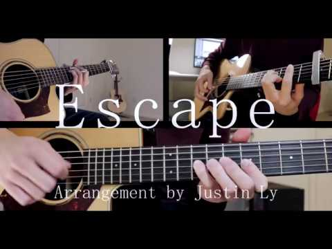 escape-kaivaan-ft-hikaru-station-acoustic-guitar-cover-justin-ly