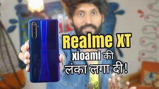 Realme XT   Attack on Xiaomi   64MP quad Camera   Real India's First