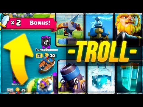 TROLL WAR & LADDER PUSHING in Clash Royale with Nickatnyte!