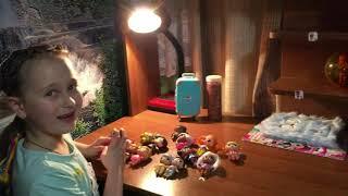 Коллекция Кукол ЛОЛ Куклы ЛОЛ с Волосами Неоновая Куколка ЛОЛ Светится в темноте Видео для детей