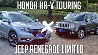 Comparativo: Honda HR-V Touring x Jeep Renegade Limited