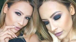 ROCKER CHIC SMOKEY EYE MAKEUP TUTORIAL - DESI PERKINS