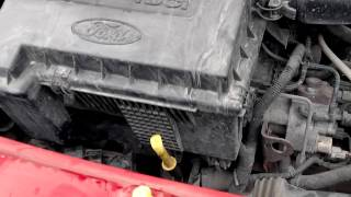 жесткая  работа двигателя форд транзит