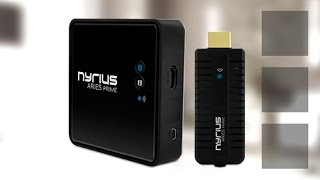 Video Wireless HDMI - Nyrius ARIES Prime Review download MP3, 3GP, MP4, WEBM, AVI, FLV Mei 2018