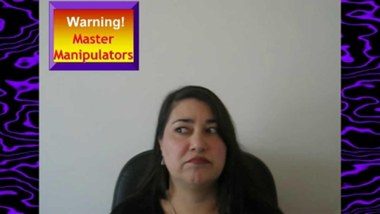 Verbal Abuse Relationship Emotional *Narcissist* Master Manipulators Bully  Bullying (*Verbal*)?