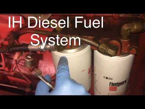 IH 986 Fuel System - YouTube