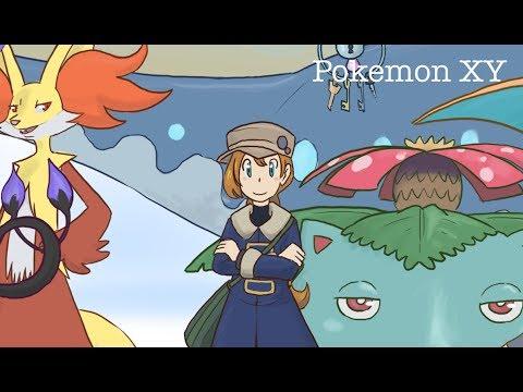 SPEEDPAINT - Pokémon XY&Z Serena 1º Aniversario