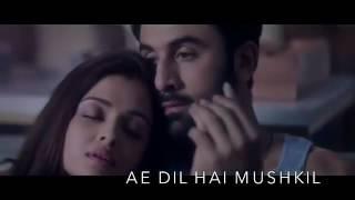 Ranbir Kapoor 39 s Ae Dil Hai Mushkil Title