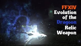 FFXIV Evolution of the Dragoon Relic Weapon Feat Ishgard Day Theme Solid