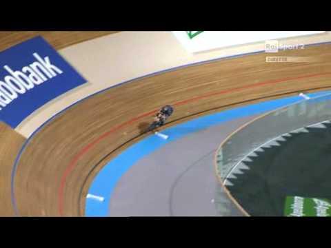 Sarah Hammer vs Alison Shanks world pursuit W final 1°2°