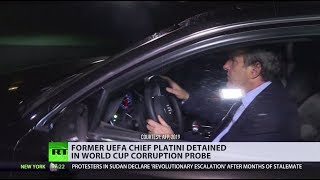 Ex-UEFA president Platini in custody amid probe into the awarding of 2022 FIFA World Cup to Qatar