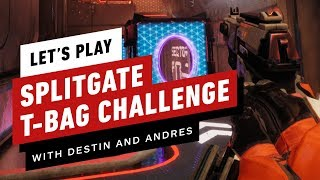 We Played T-Bag Confirmed and It's Hilarious!- Splitgate Arena Warfare