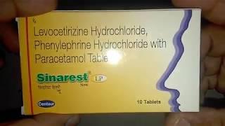 Sinarest LP Tablets review सबसे ज्यादा इस्तेमाल की जाने वाली सर्दी जुकाम की प्रभावी दवा !
