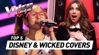 Best Disney & Wicked Auditions In The Voice Kids