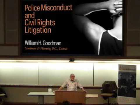 Police Misconduct and Civil Rights Litigation