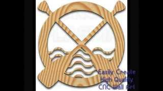 The Nautical Wall Art Cnc Router Table / Plasma Cutter Graphic Collection