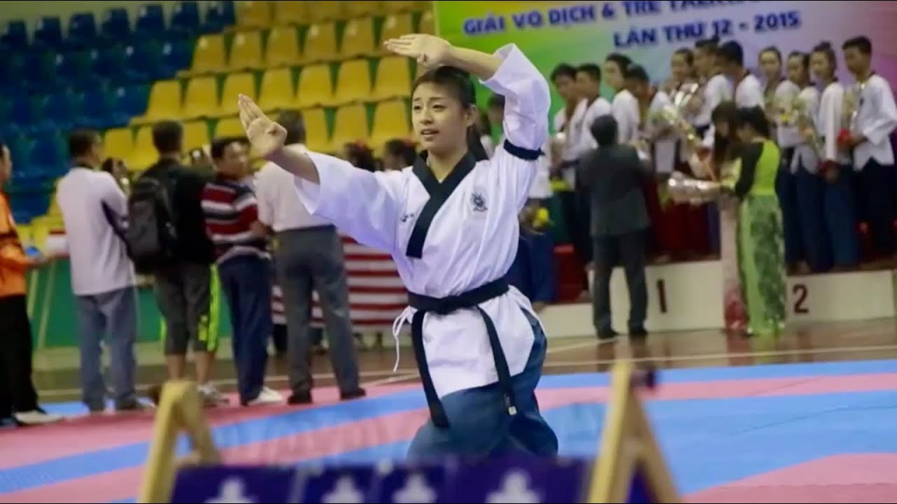 Vothuat.vn - Grayce Tan: Freestyle Poomsae - Individual (2015)