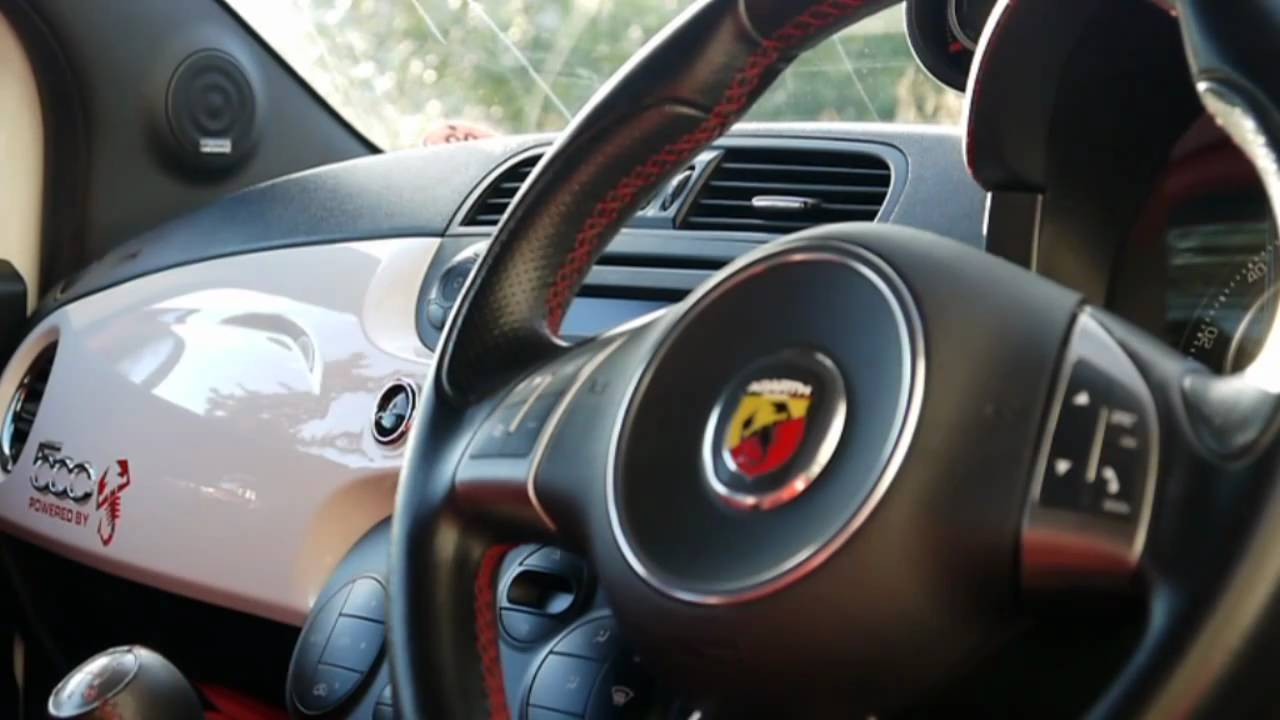 Fiat 500 Abarth - Interior details - YouTube