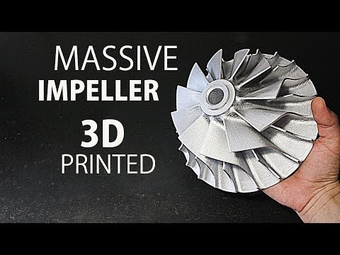Making A Huge Impeller - CR 10 3D Printer