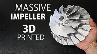 Making A Huge Impeller - CR 10 3D Printer