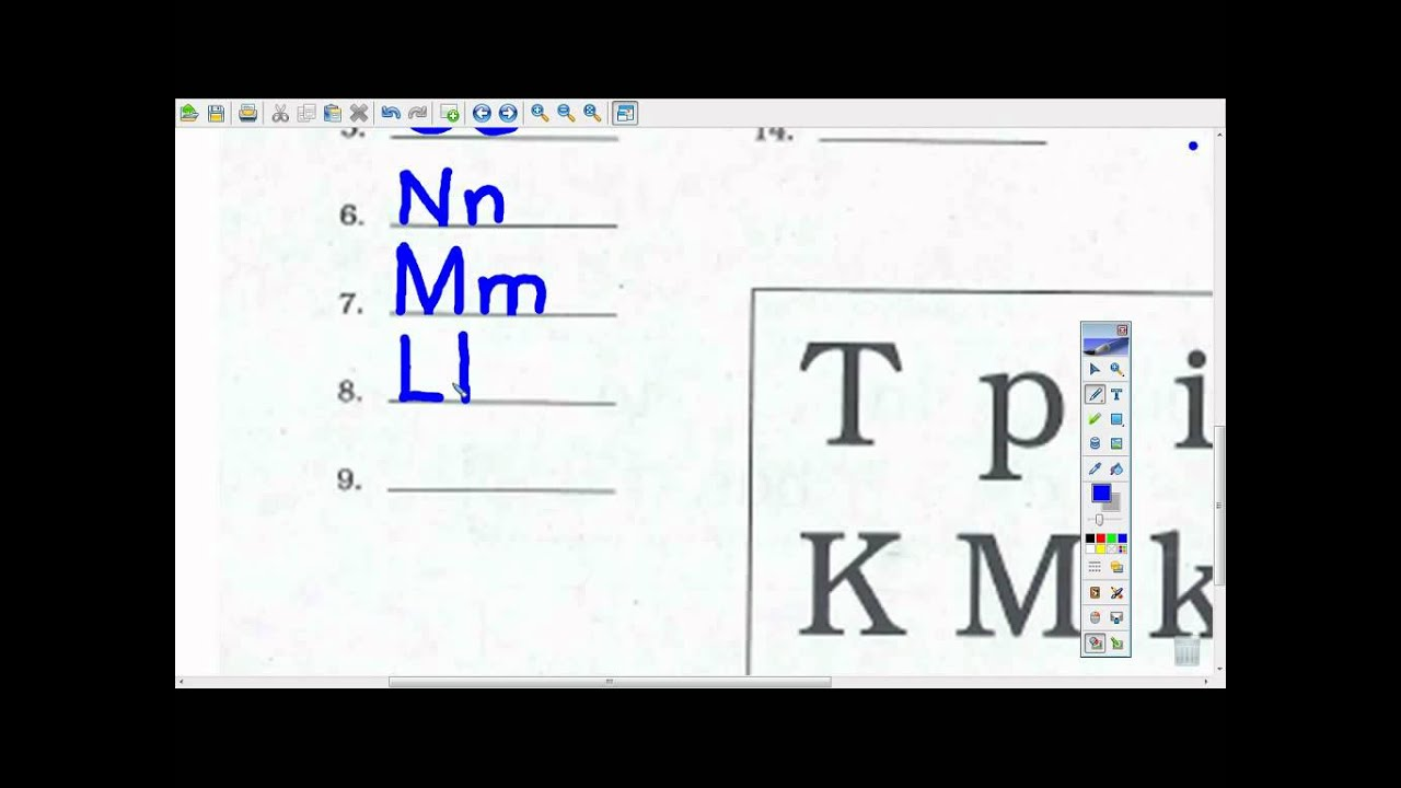 Printables Saxon Phonics Worksheets kindergarten language arts saxon 56 youtube 56