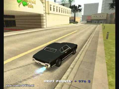 GTA San Andreas Sabre Drifting