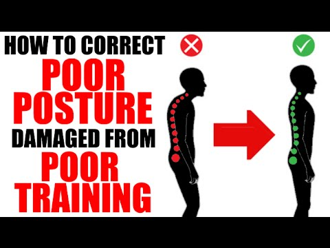 HOW TO FIX UGLY POSTURE FROM UNBALANCED TRAINING FAST!!! | IMPROVE POSTURE WITH 4 EASY EXERCISES!