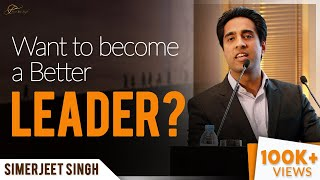 Leadership Keynote Speaker Simerjeet Singh | Leadership Excellence Motivational Keynote in English