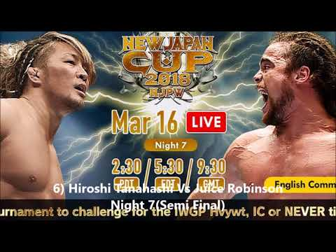 Top 10 New Japan Cup 2018 Matches