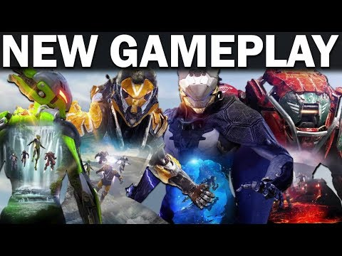 *NEW* ANTHEM GAMEPLAY! - All 4 Javelins Detailed! - Abilities, Movement, Ultimates!