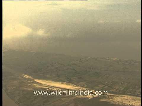 Flying over Assam