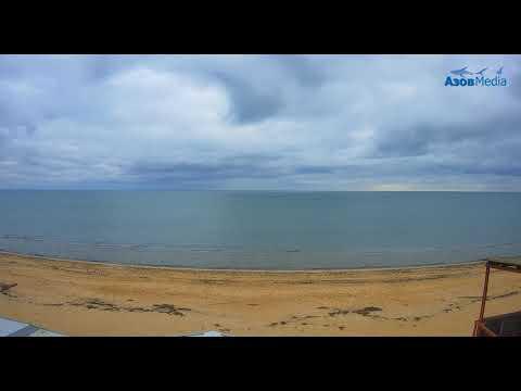 1 Января 2020. Обзор веб-камер с побережья Азовского моря