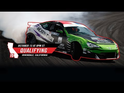 Network A Presents: Formula Drift Irwindale - Qualifying LIVE!