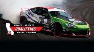 Network A Presents: Formula Drift Irwindale - Qualifying LIVE! thumbnail