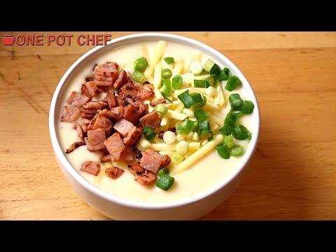 Ultimate Slow Cooker Potato Soup | One Pot Chef