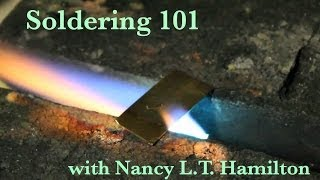 Soldering 101: Part 1 | Jewelry Tips with Nancy
