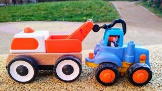 Мультики про машинки Синий трактор и эвакуатор Машинки Детские мультики