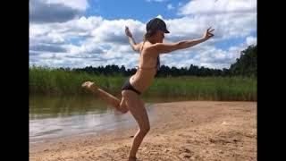 Bikini Yoga || Hot yoga