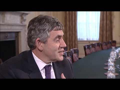 "Prime Minister Gordon Brown Interviewed by 14-year-old Quincy Washington on ""Election"" (BBC One)"