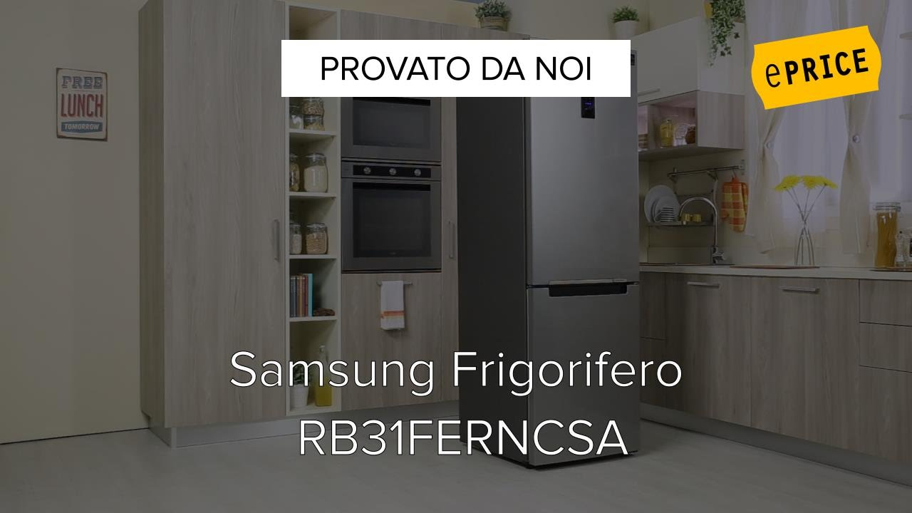 Video Recensione Frigorifero Samsung RB31FERNCSA - YouTube