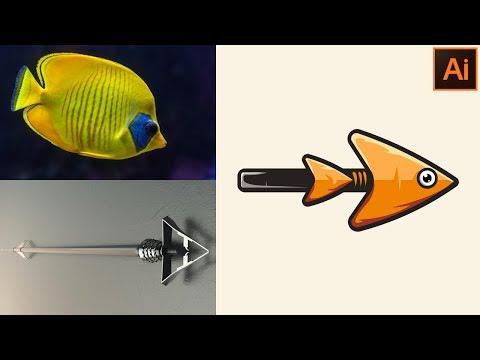 How to Make a Flat Design Illustration for Beginners - Adobe Illustrator CC thumbnail