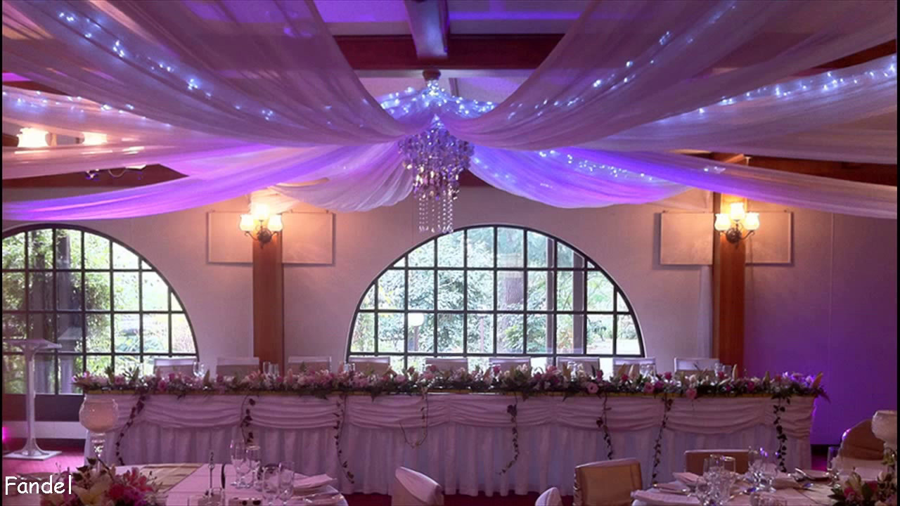 Diy Wedding Party Ceiling Decorations