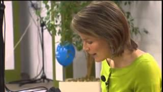 Prinses Mathilde leest voor - Brailledag 2010