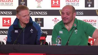 Press Conference: Joe Schmidt and Rory Best | Wales 25 - 7 Ireland | Guinness Six Nations