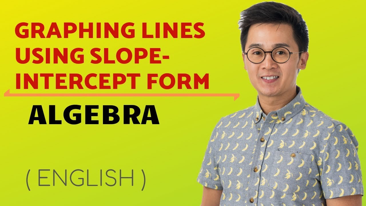Algebra Writing Equation Of A Line In Slope Intercept Form Youtube
