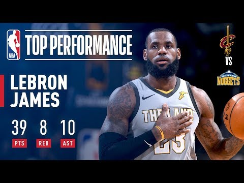 LeBron James Comes Up CLUTCH in the Mile High City!