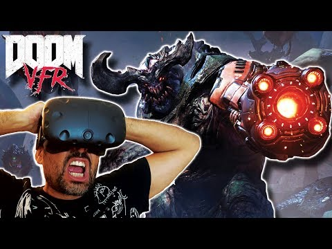 DOOM VFR en REALIDAD VIRTUAL | HTC Vive Gameplay en Español (Directo)
