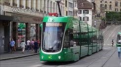 Straßenbahn in Basel 2018 | mit BVB und BLT Fahrzeugen