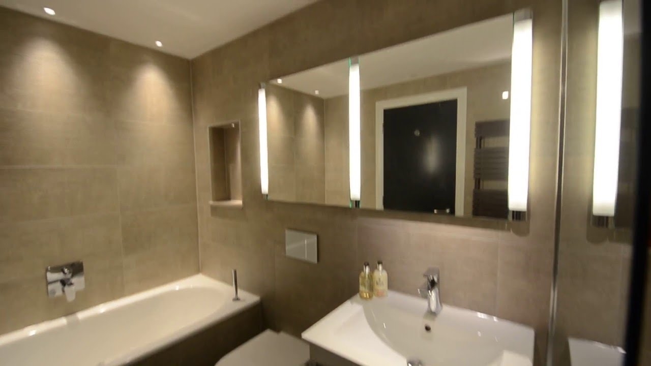 Walk In Shower  Bathroom Luxury London Apartment YouTube - Luxury apartments bathrooms