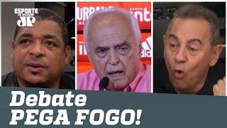 PEGOU FOGO! Vampeta defende Leco, e Flavio Prado DÁ NO MEIO!